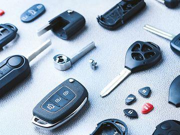 Car Key Shells Catalogue
